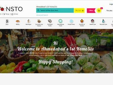 Online Grocery Booking