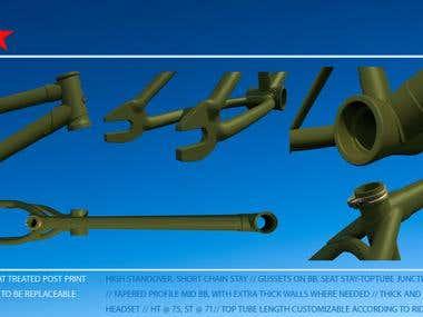 3D Industrial Design Modeling