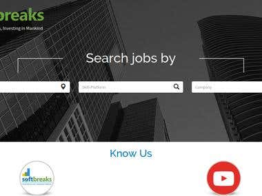 Softbreaks - Recruitment Portal (QA for Mobile Web App)