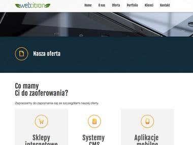 WebCitron - company website