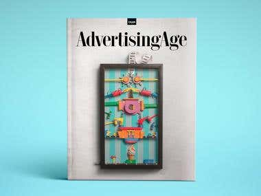 PERSONAL WORK: Advertising age cover