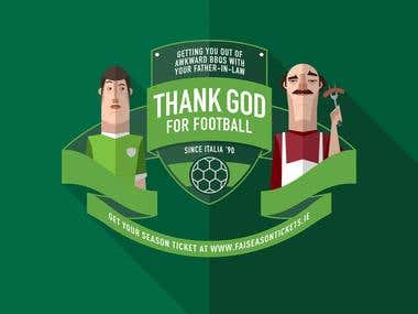 FOOTBALL ASSOCIATION OF IRELAND: Thank God for football