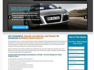 Online Car Renting