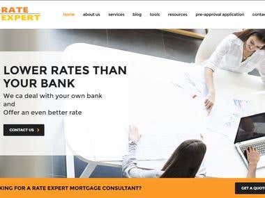 Mortgage Agent Toronto Web Design and Development