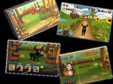 Awsome 3D Adventure Game - Cray Bull!!!