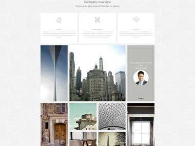 Organic Architecture WordPress theme