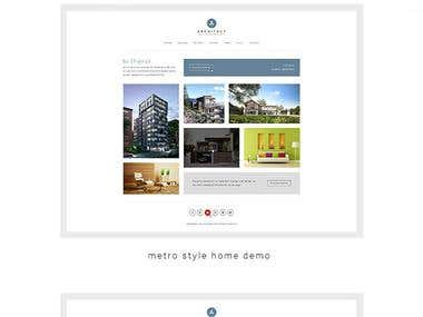 Architect - Creative Agency WordPress Theme