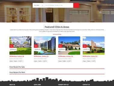 Property Listing & Bidding Website