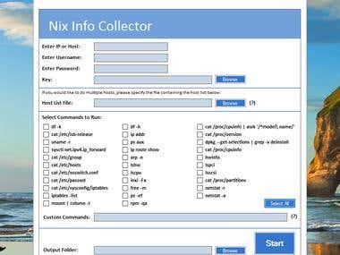 Unix administration Tool