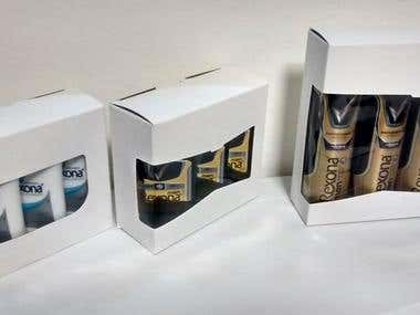 Unilever packaging, Rexona
