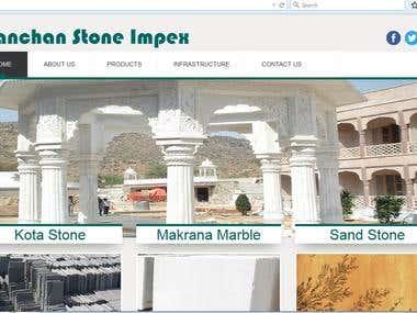Marble Website