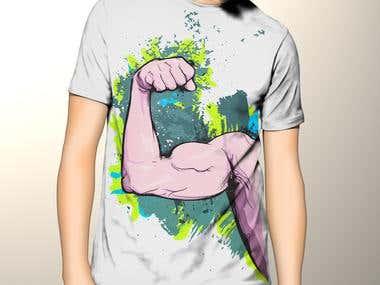 t.shirt design