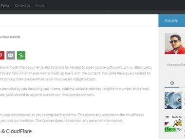 Linux Tweaks Blog