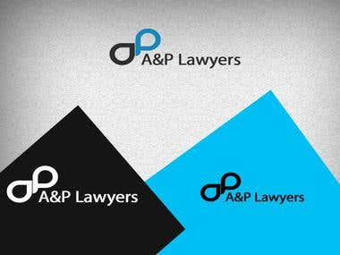 A&P Lawyers Logo Design