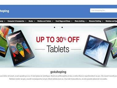 Go4Shoping -To Shop at a Click