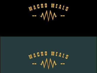 Logo for Macro Meals