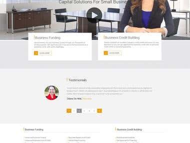 Academy of Business Credit Wordpress Site