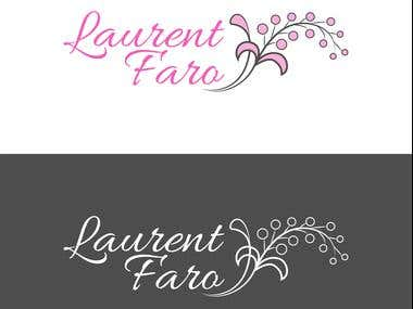"logo for a photographer called ""Laurent Faro"""