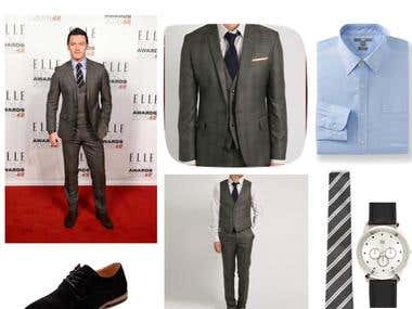 How to get the look : Luke Evans