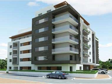 - Residential Accommodation (basement+ground floor+6floors)
