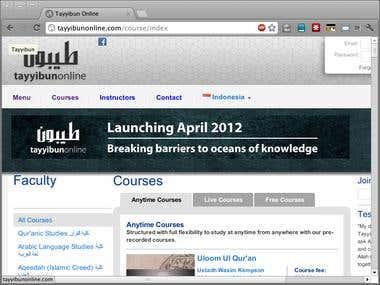Online University System for TayyibunOnline
