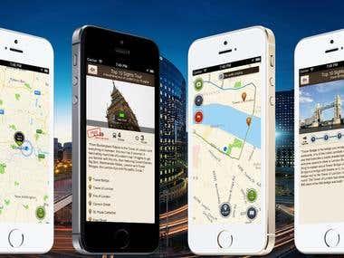 Tourist mobile app