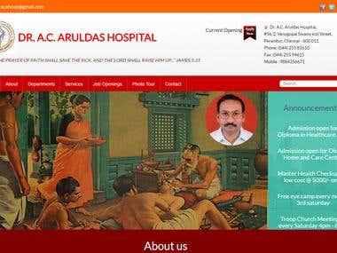 A portal for Hospital