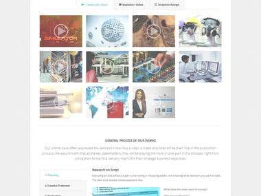 Digital Agency Site
