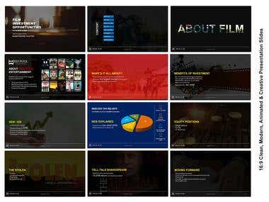 Custom Powerpoint Presentation | Full HD