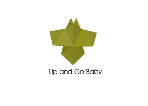 Up and Go Baby Logo Design