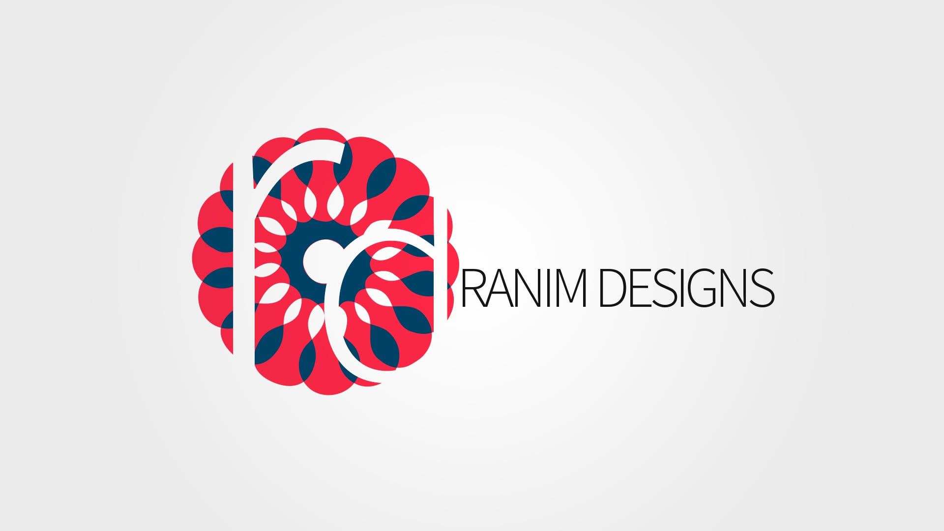 Ranim Designs logo Design