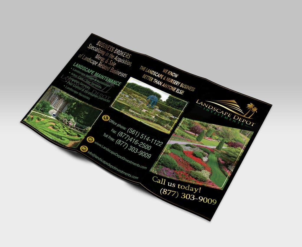 Design tri-fold brochure
