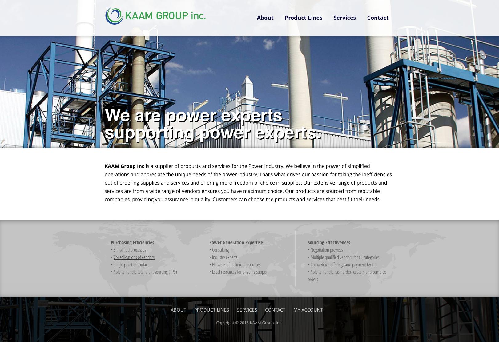 CMS Product Catalog Website