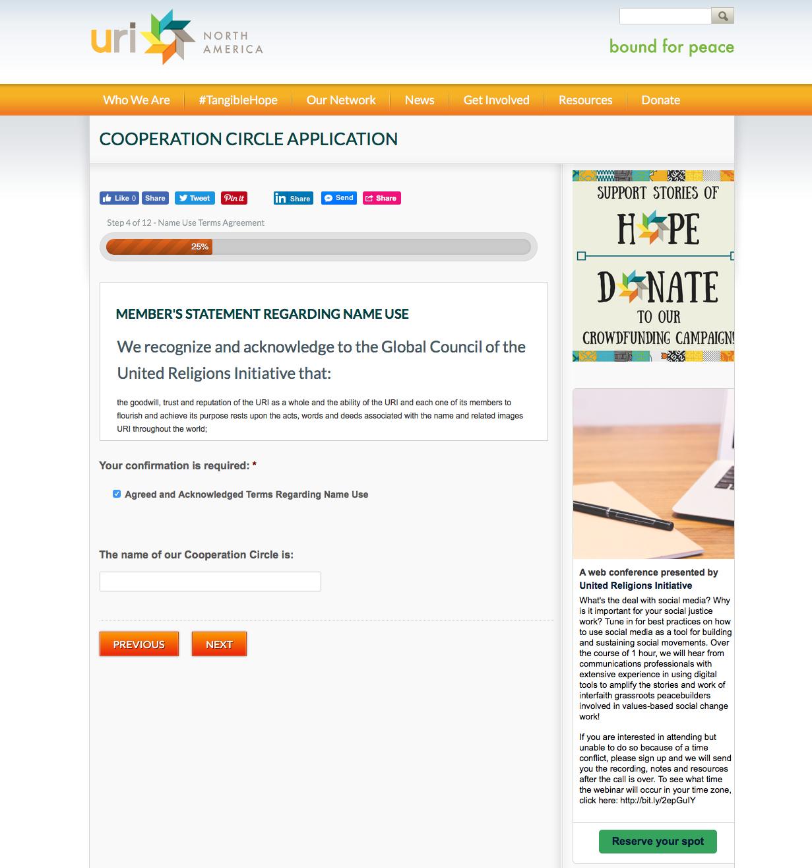 Registration System with CMS Development