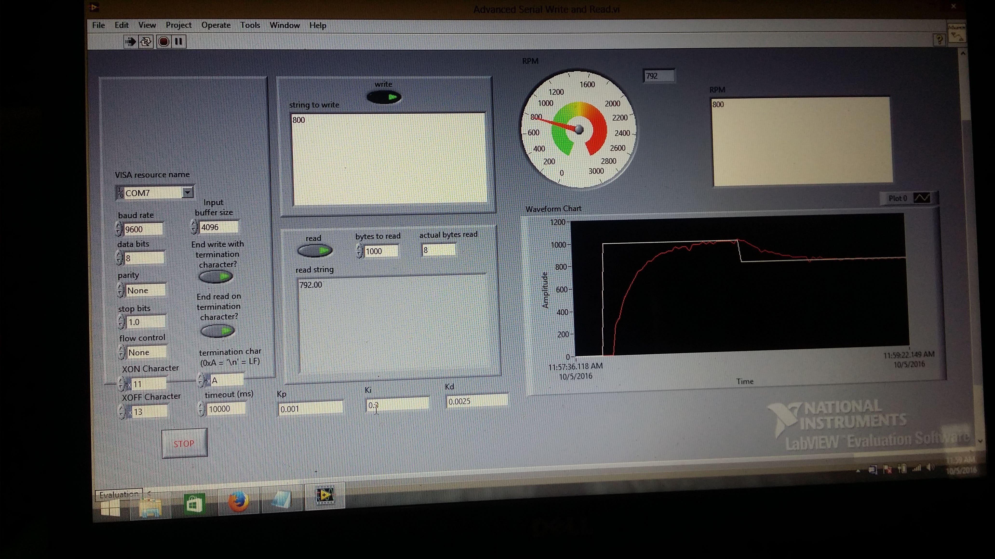 PID Motor Speed Control LAbview+Arduino | Freelancer