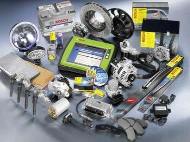 Technical translation of car parts/spare parts