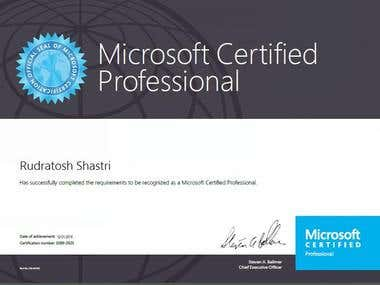 Microsoft Certified IT Professional (MCITP)
