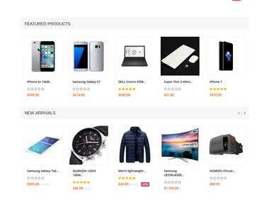 PHP Ecommerce online store