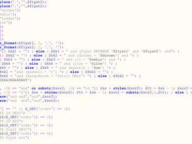 PHP Desteği(Support)