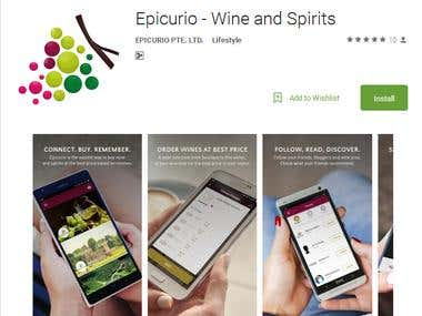Epicurio - Wine and Spirits