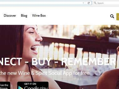 Epicurio - Wine and Spirits (Website)