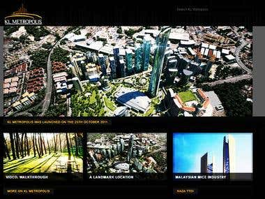 KL Metropolis Website