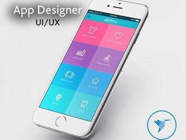 Udica App Design / Spain
