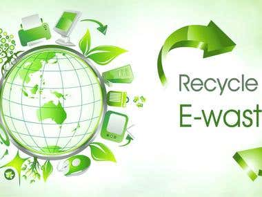 E-Wast Recycle - Website