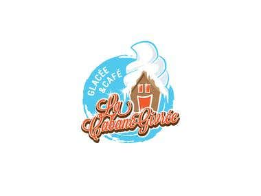 La Cabine Givree - The Frosty Cabin - logo