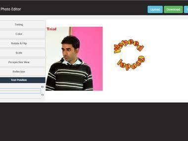 HTML5 Image Editor