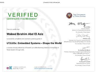 Embedded Systems Shape The World Course