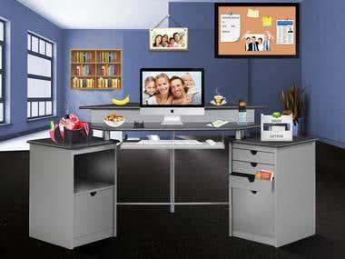 Desk web page
