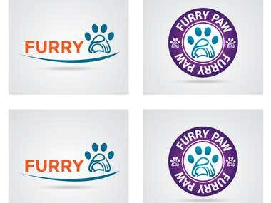 Furry Paw Logo