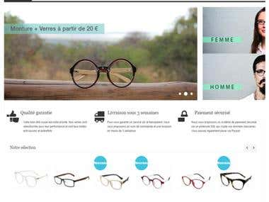 Online Lens & Glasses Shop